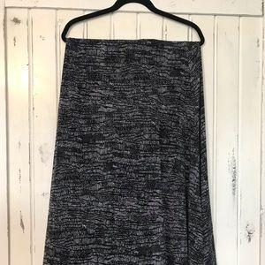 LuLaRoe Maxi Skirt — Like New!